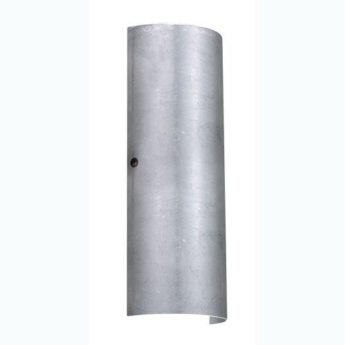 Besa Lighting Torre Silver Foil Bronze Two-Light Sconce