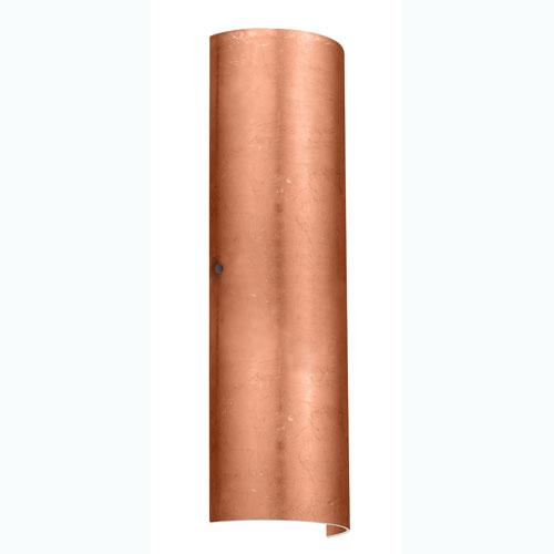 Torre Copper Foil Bronze Two-Light Sconce