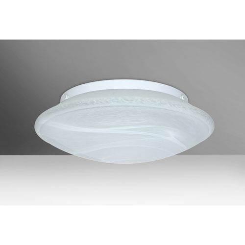 Sola 16 Marble Three-Light LED Flush Mount