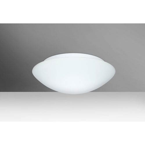 Nova 13 White Two-Light LED Flush Mount