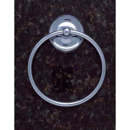 Plain Chrome Towel Ring