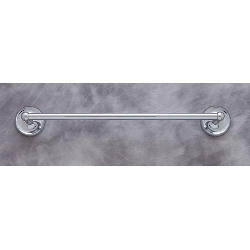 Plain Chrome 24-Inch Towel Bar