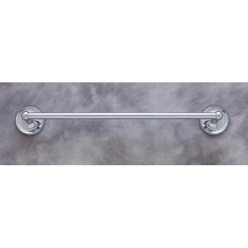 Plain Chrome 30-Inch Towel Bar
