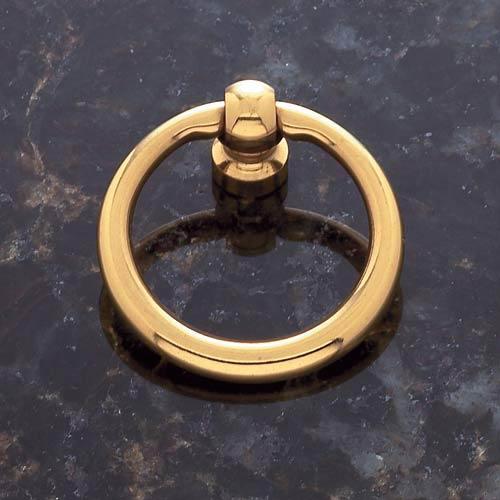 Solid Brass 1 1/2-Inch Diameter Ring Pull