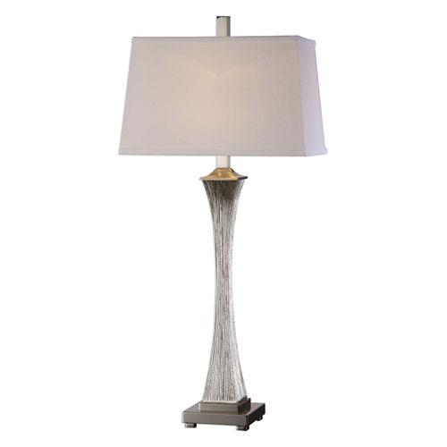 Vella Silver Champagne Lamp