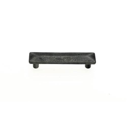 Bedrock Rustic Bronze Finish 3-Inch Center to Center Rectangular Distressed Pull