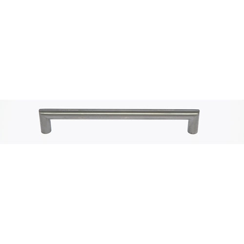 Stainless Steel Rounded Bar Pull- 9 inches