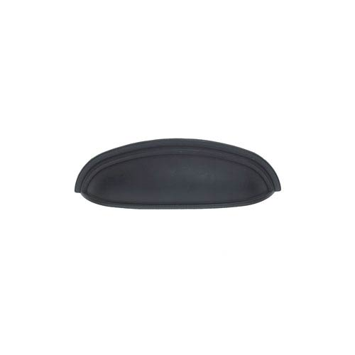 JVJ Hardware Vintage Oil Rubbed Bronze Finish 4-Inch Center to Center Heavy Zinc Cup Pull