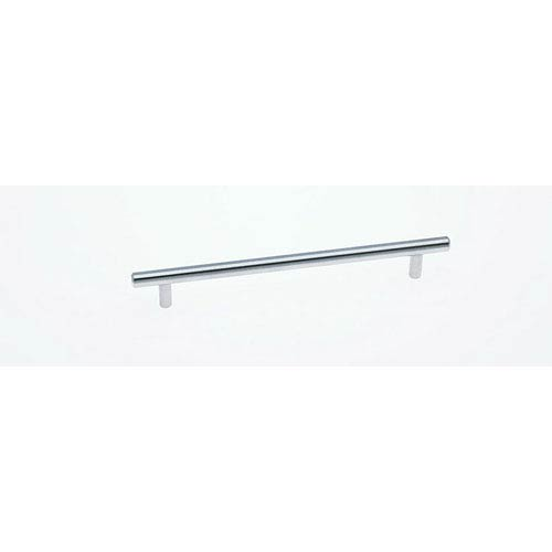 JVJ Hardware Palermo Stainless Steel Finish Bar Pull - Length 9.43 Inches