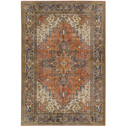 Amanti Copper Rectangular: 3 Ft. 3 In. x 5 Ft. 3 In. Rug