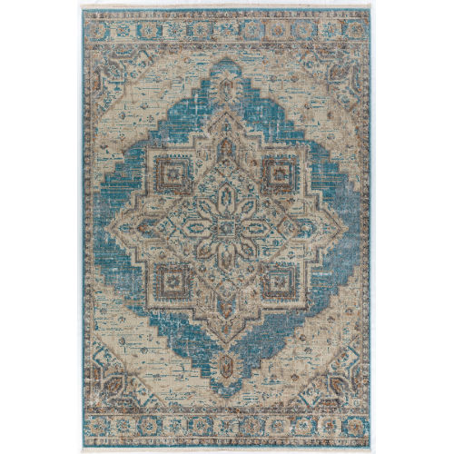 Baku Ocean Rectangular: 7 Ft. 6 In. x 9 Ft. 8 In. Rug