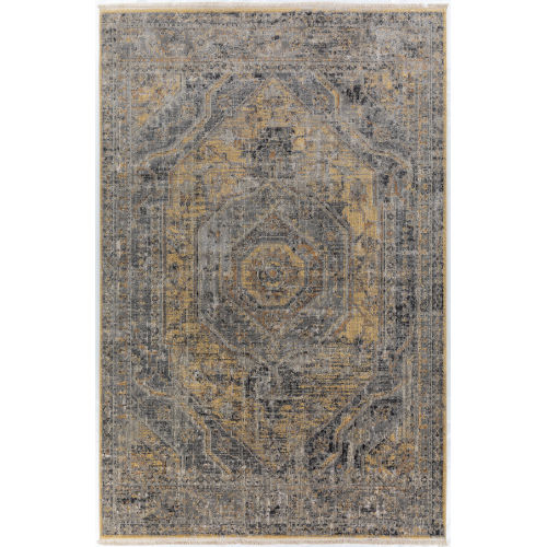 Baku Goldenrod Rectangular: 5 Ft. x 7 Ft. 8 In. Rug