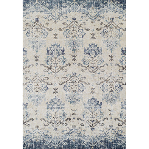 Dalyn Rugs Antigua Blue Rectangular: 3 Ft. 3 In. x 5 Ft. 3 In. Rug