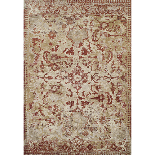 Antigua Paprika Rectangular: 3 Ft. 3 In. x 5 Ft. 3 In. Rug
