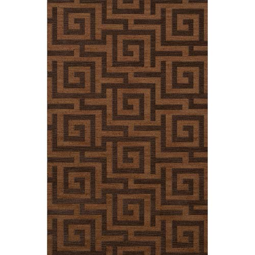 Dover DV13 Caramel Rectangular: 3 x 5 Ft.  Area Rug