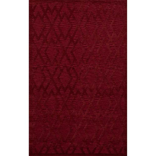 Dover DV1 Rich Red Rectangular: 3 x 5 Ft.  Area Rug Product Image