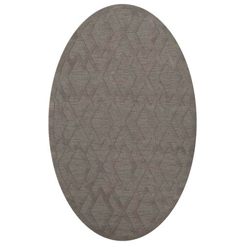 Dover DV1 Silver Oval: 3 x 5 Ft.  Area Rug Product Image