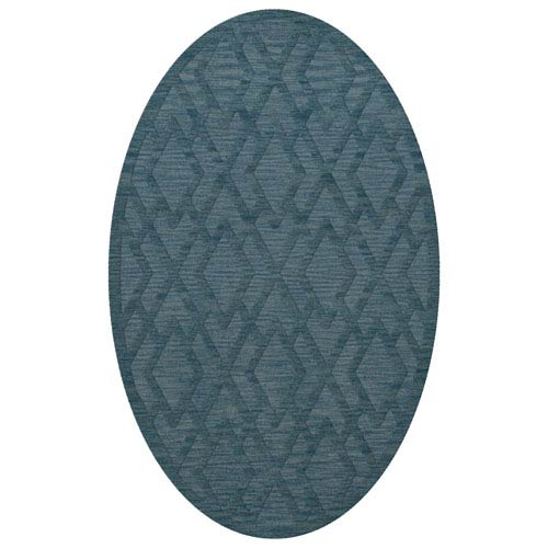 Dover DV1 Sky Oval: 3 x 5 Ft.  Area Rug Product Image