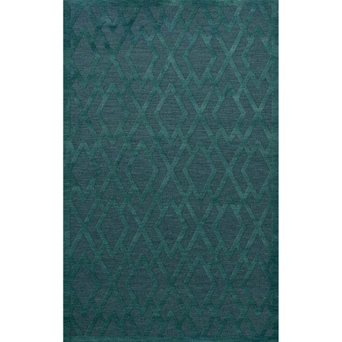 Dover DV1 Teal Rectangular: 3 x 5 Ft.  Area Rug Product Image