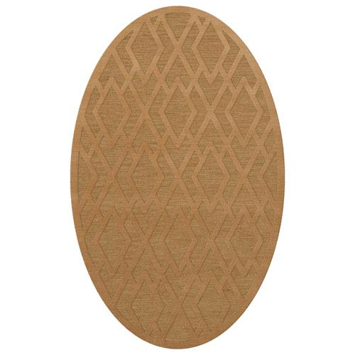 Dover DV1 Wheat Oval: 3 x 5 Ft.  Area Rug Product Image
