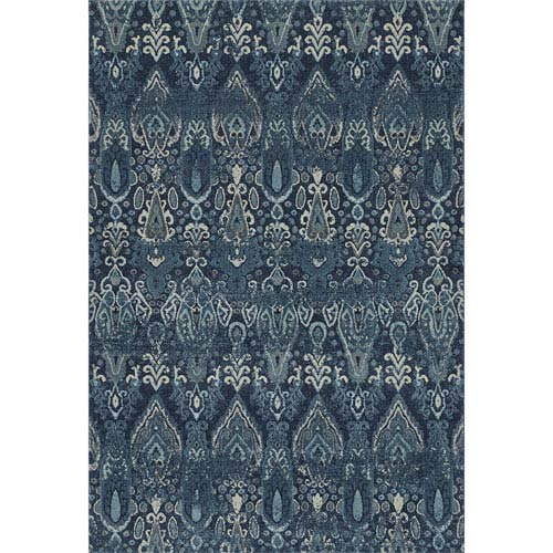 Geneva Navy Rectangular 9 Ft 6 Inch X 13 2