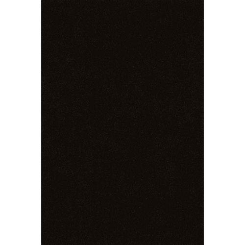Illusions Black Rectangular: 3 Ft. 6-Inch x 5 Ft. 6-Inch Rug