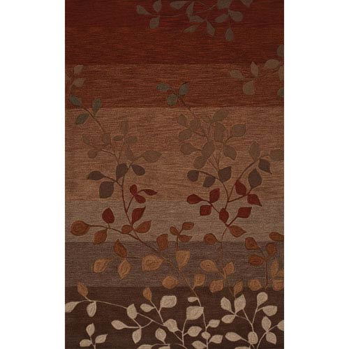 Dalyn Rugs Studio Paprika Rectangular: 3 Ft. 6-Inch x 5 Ft. 6-Inch Rug
