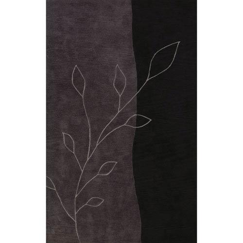 Dalyn Rugs Studio Black Rectangular: 3 Ft. 6-Inch x 5 Ft. 6-Inch Rug
