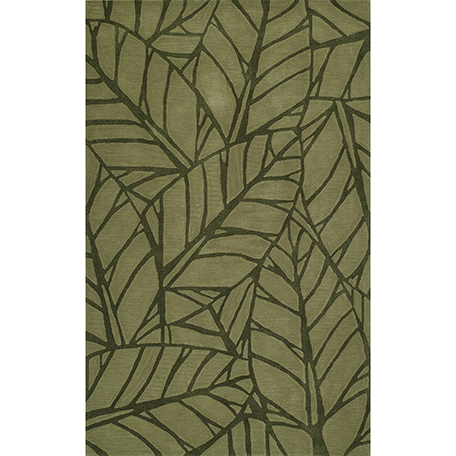Dalyn Rugs Santino Fern Rectangular: 3 Ft. 6 In. x 5 Ft. 6 In. Rug