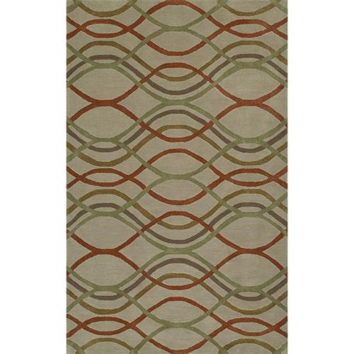 Dalyn Rugs Santino Sand Rectangular: 3 Ft. 6 In. x 5 Ft. 6 In. Rug