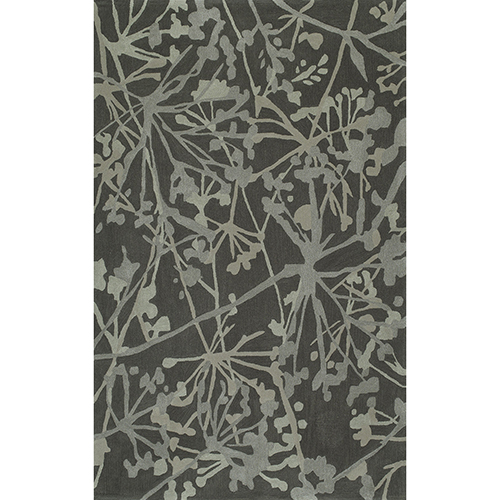 Santino Graphite Rectangular: 3 Ft. 6 In. x 5 Ft. 6 In. Rug