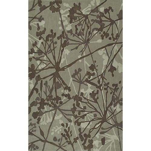 Santino Taupe Rectangular: 3 Ft. 6 In. x 5 Ft. 6 In. Rug