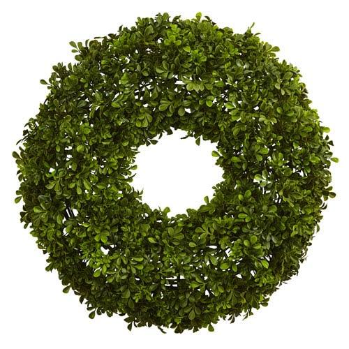 22-Inch Boxwood Wreath