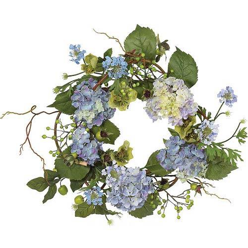 20-Inch Hydrangea Wreath
