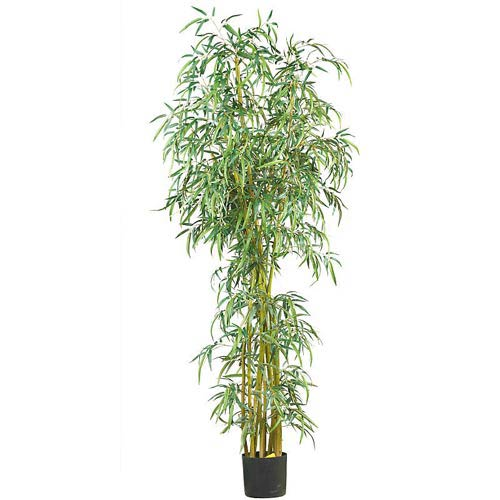 7-Foot Fancy Style Slim Bamboo Silk Tree