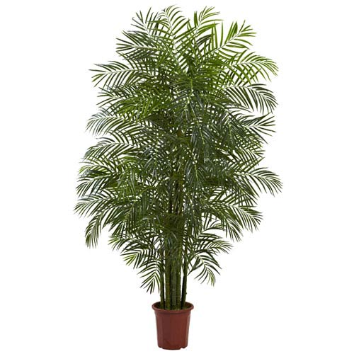 Nearly Natural Green 7.5 Foot Areca Palm