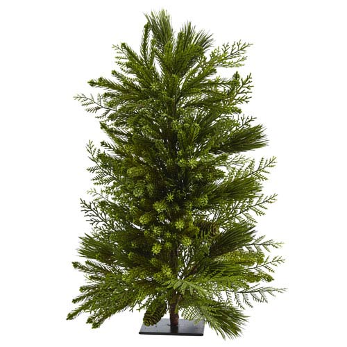 26-Inch Mixed Pine Tree