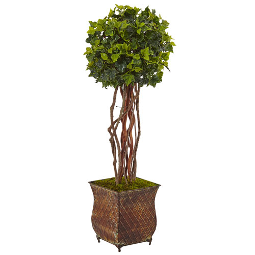 30 In. English Ivy Tree in Planter UV Resistant)