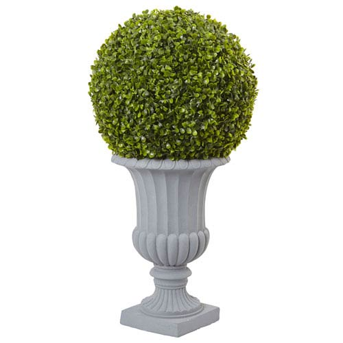 2.5 Ft. Boxwood Topiary with Urn