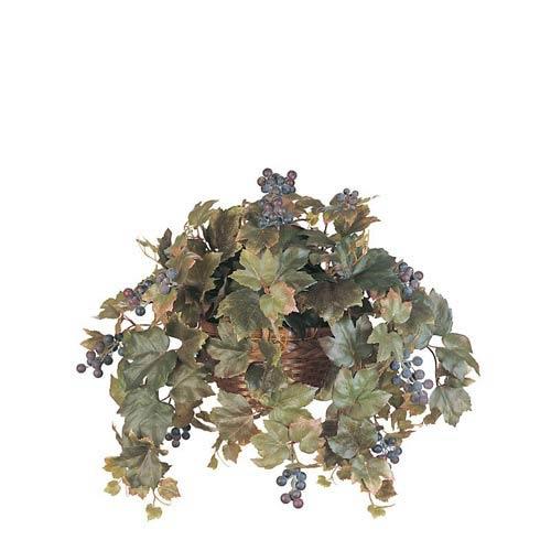 All Season Grape Leaf Hanging Basket