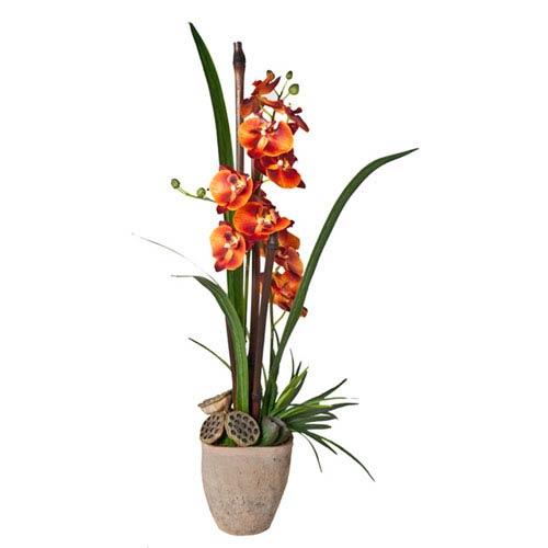 Creative Branch Orchids Faux Botanical Arrangement