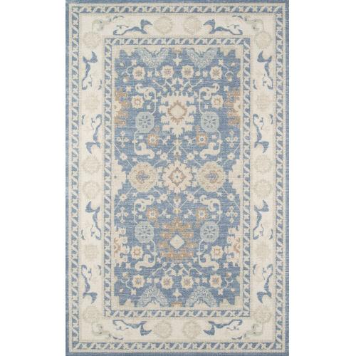 Anatolia Oriental Light Blue Rectangular: 6 Ft. 6 In. x 9 Ft. Rug