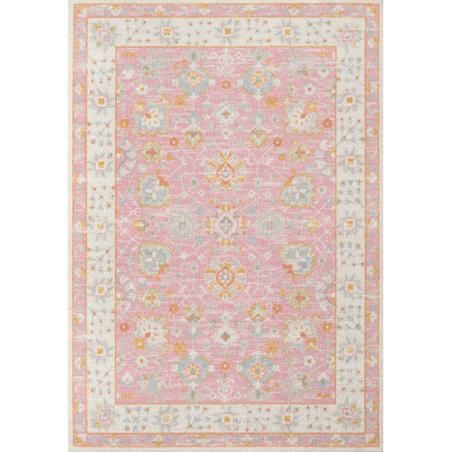 Anatolia Oriental Pink Rectangular: 2 Ft. x 3 Ft. Rug