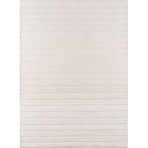 Andes Striped Ivory Rectangular: 8 Ft. 9 In. x 11 Ft. 9 In. Rug