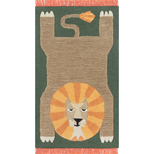 Atticus Lion Rectangular: 4 Ft. x 6 Ft. Rug