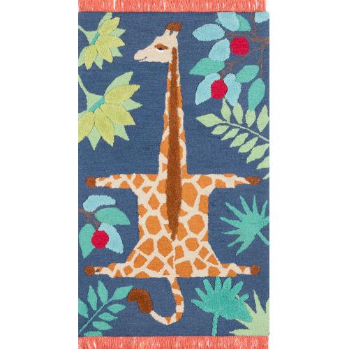 Atticus Giraffe Rectangular: 5 Ft. x 7 Ft. Rug