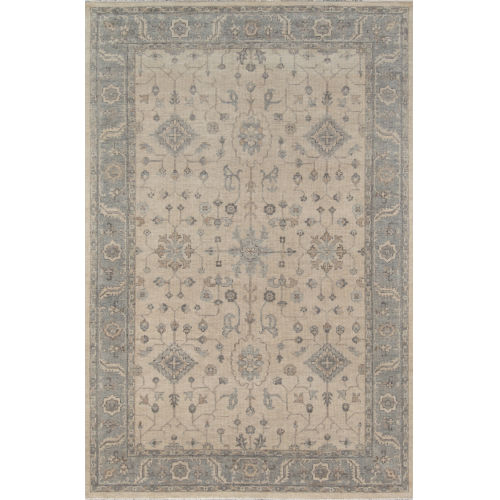 Banaras Beige Rectangular: 2 Ft. x 3 Ft. Rug