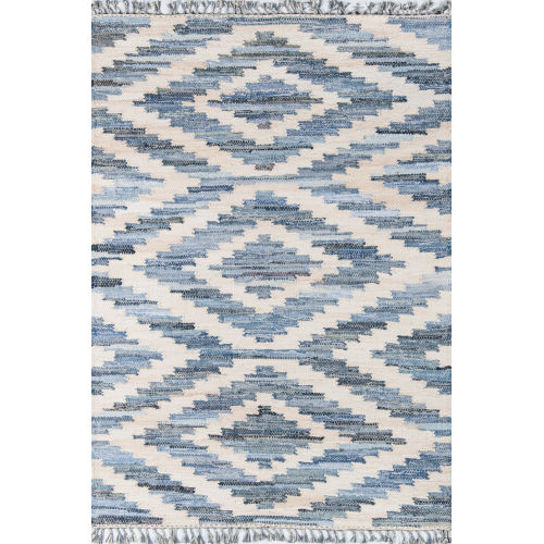 Tribal Blue Runner: 2 Ft. 3 In. x 8 Ft.