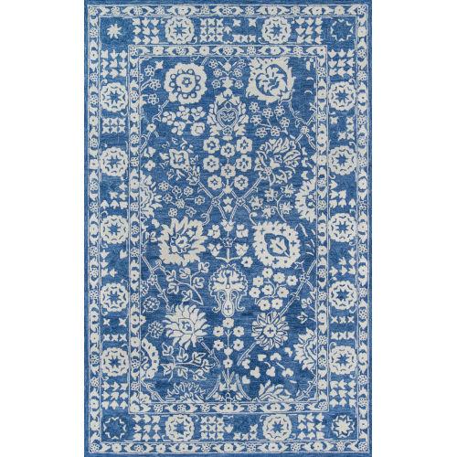 Cosette Oriental Blue Rectangular: 8 Ft. x 11 Ft. Rug