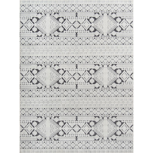 Covington Charcoal Rectangular: 3 Ft. 11 In. x 5 Ft. 7 In. Rug